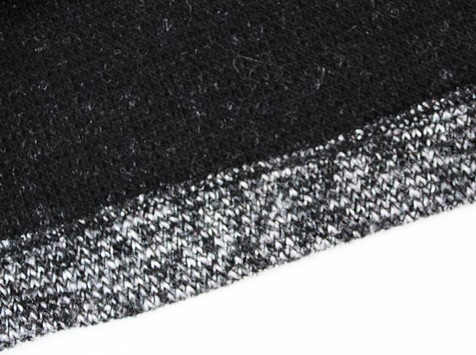【ARIANNE】【アリアンヌ】3276  ニットスカート ブラック/グレー